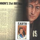 John Lennon - Earth Magazine - Beatles
