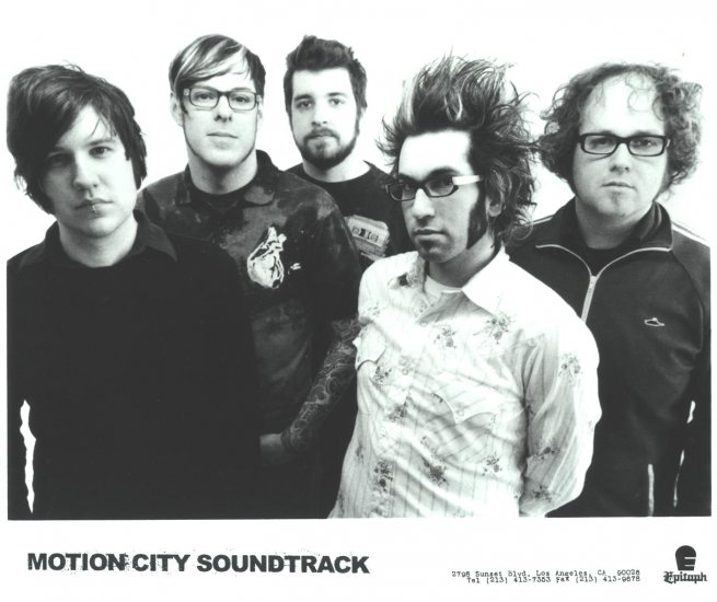 Motion City Soundtrack Press Photo