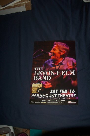 Levon Helm Tour Poster