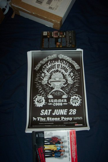 Less Than Jake - Goldfinger Tour Poster