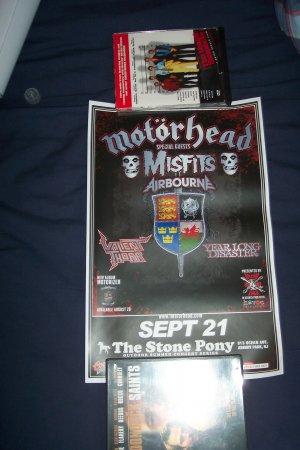 Motorhead Misfits Tour Poster