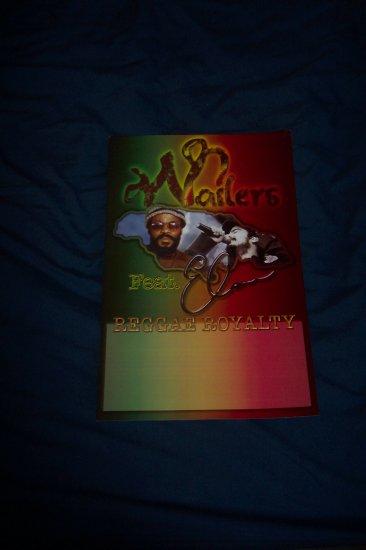 Wailers Reggae Royalty Tour Poster Bob Marley