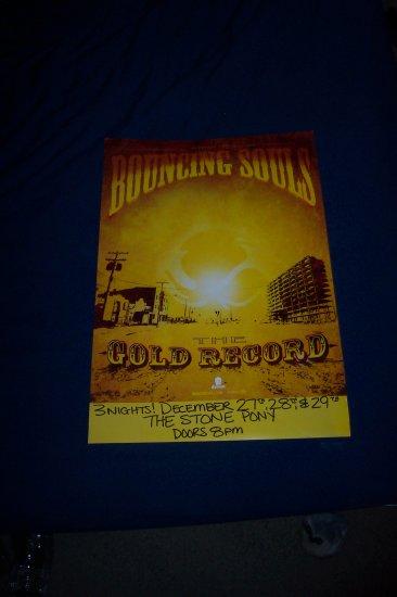 Bouncing Souls Tour Poster
