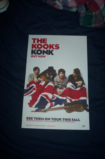 The Kooks Tour Poster
