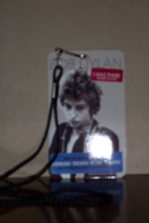 Bob Dylan -I Was There 2008 Tour Pass