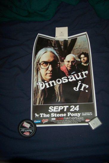 Dinosaur Jr. Tour Poster