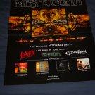 Meshuggah Album Poster