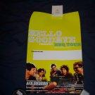 hellogoodbye tour poster