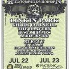 5 Linkin Park Chris Cornell Projekt Revolution 2008 Handbills