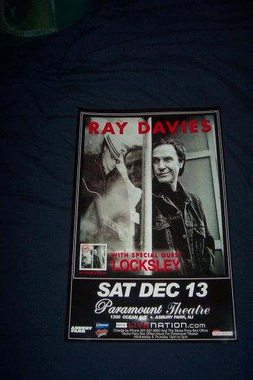 Ray Davies Tour Poster The Kinks