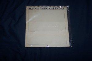 John Lennon and Yoko 1970 Calendar RARE Beatles