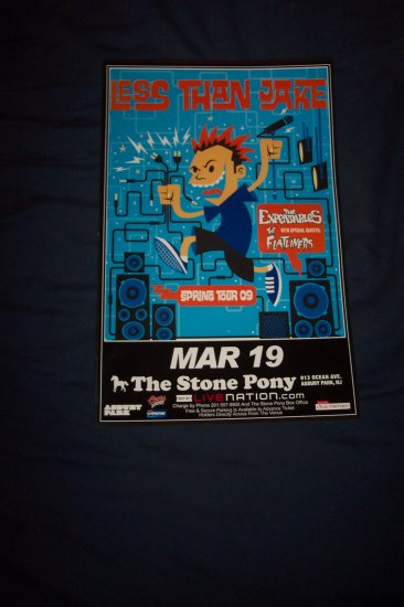 Less Than Jake Tour Poster