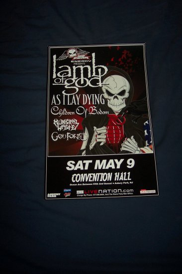 Lamb of God Tour Poster