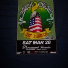 Cheech and Chong Concert Poster