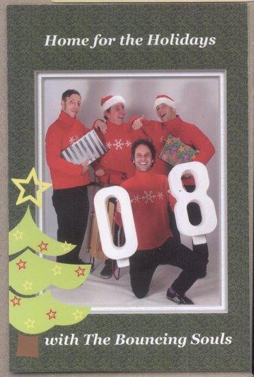 Bouncing Souls Gaslight Anthem 2008 Christmas Card