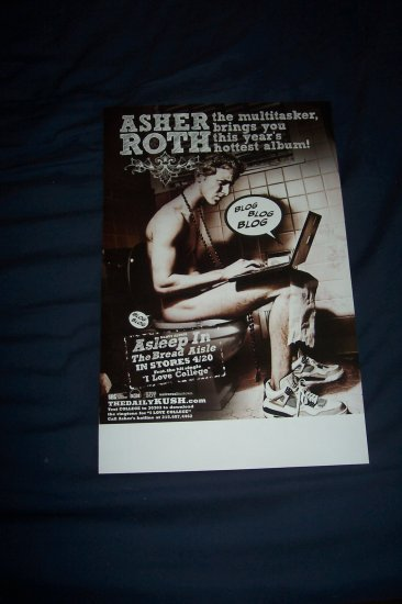Asher Roth Poster