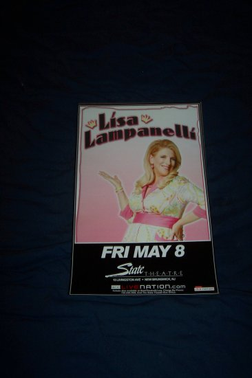 Lisa Lampanelli Tour Poster Howard Stern