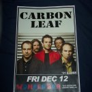 Carbon Leaf Tour Poster