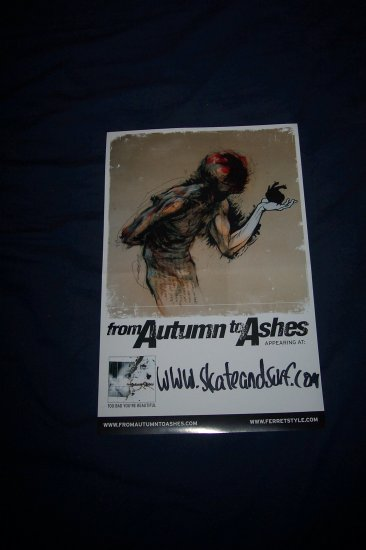From Autumn to Ashes Skate and Surf Poster