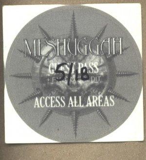 Meshuggah All Access Pass