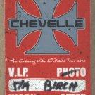 Chevelle VIP Pass