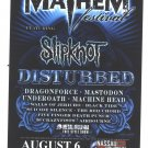 5 Slipknot Disturbed Tour Handbills