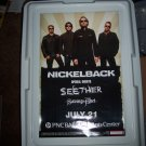 Nickelback Concert Poster Seether