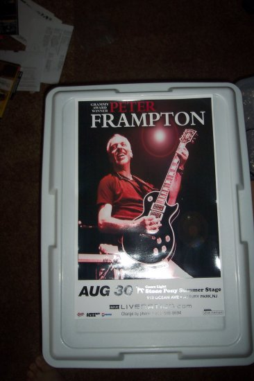 Peter Frampton Concert Poster