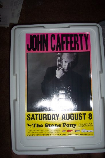John Cafferty & The Beaver Brown Band Tour Poster