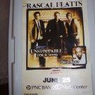 Rascal Flatts Darius Rucker Concert Poster