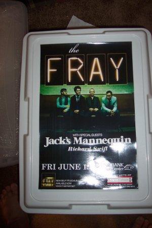 The Fray Jack's Mannequin Concert Poster