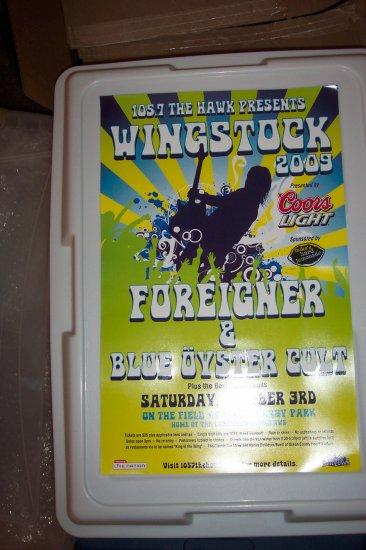 Foreigner Blue Oyster Cult Concert Poster