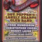 5 Sgt Peppers Handbills Beatles Wings Todd Rundgren