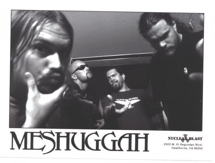 Meshuggah Press Photo