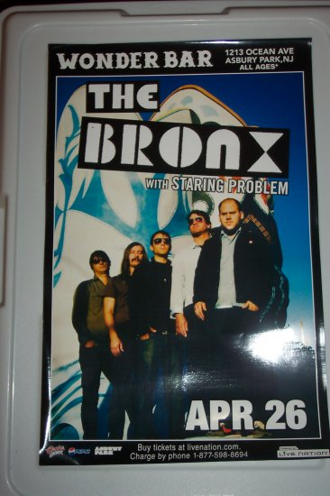 The Bronx Concert Poster