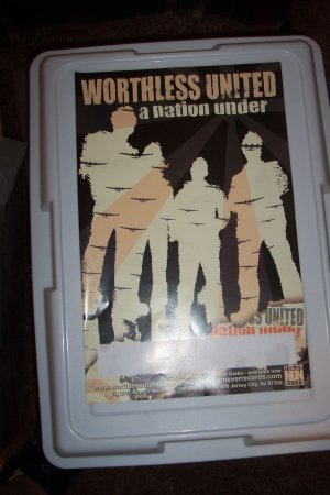 Worthless United Album Poster Bouncing Souls Punk