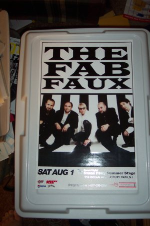 The Fab Faux Concert Poster The Beatles