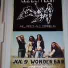 Lez Zeppelin Concert Poster Led Zeppelin