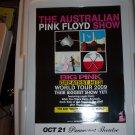 Australian Pink Floyd Tour Poster