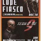 3 Lupe Fiasco Tech N9ne Concert Handbills