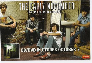 3 The Early November Album Handbills
