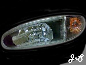 Proton Wira/Satria/Putra Head Lamp - Crystal / Black / Reflactor