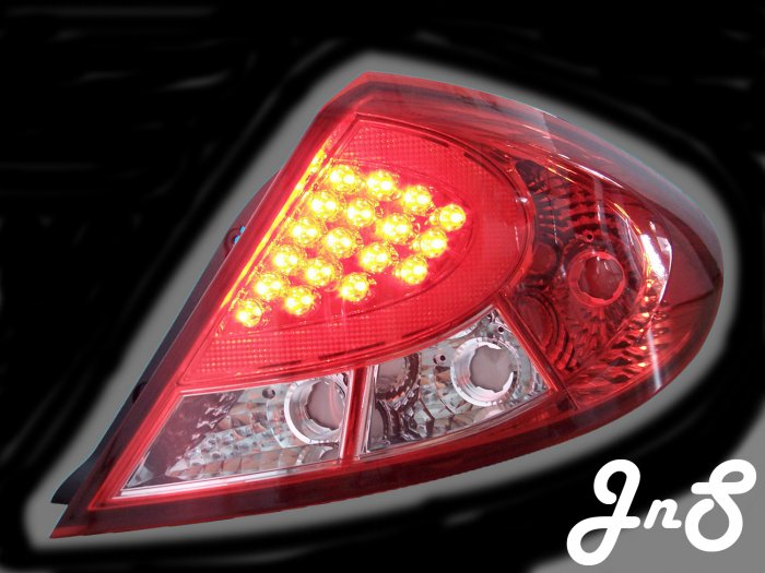 Proton Gen-2/Persona Tail Lamp - Crystal/Clear/LED