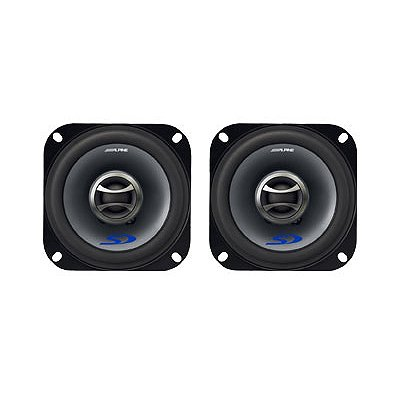 """Alpine 4"""" Coaxial 2-Way Speaker"""