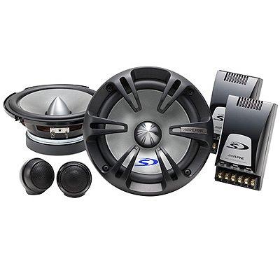 "Alpine Type-S 6-1/2"" (16.5cm) Component 2 Way Speaker"