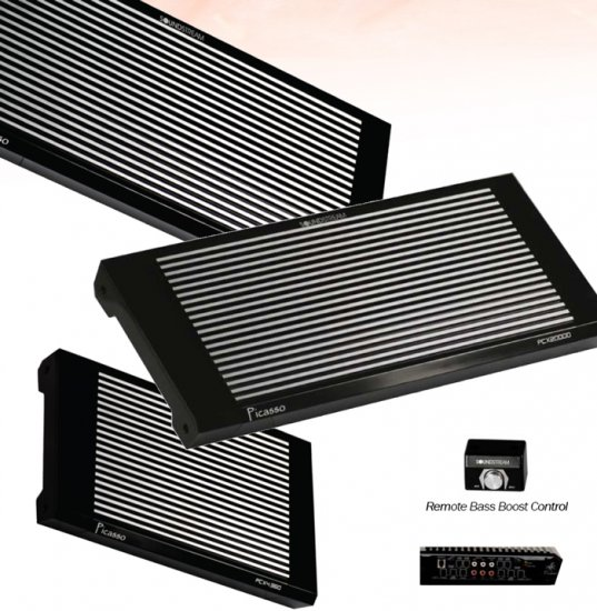 Soundstream Picasso series 4 channel