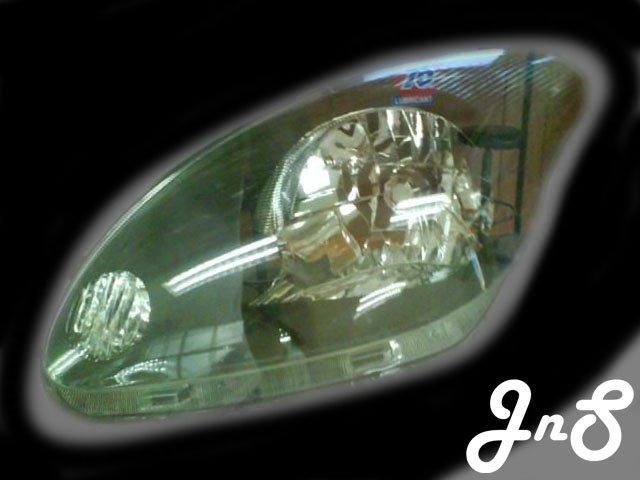 Perodua Myvi Head Lamp - Crystal / Black / 0 CCFL / Reflactor