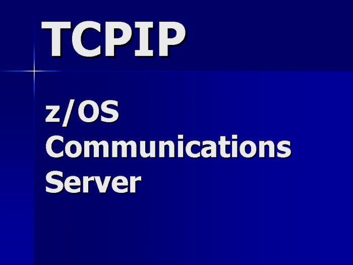 TCPIP Communications Server Contractor