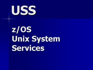 USS - Unix System Services Contractor