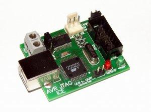 3.3/5V ATMEL AVR JTAG ICE-programmer&debugger with USB to UART converter JTAGICE